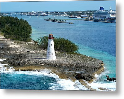 Hog Island Lighthouse 2 Metal Print