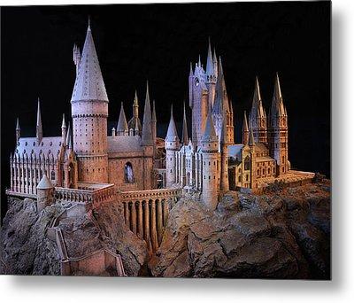 Hogwarts Castle Metal Print by Tanis Crooks
