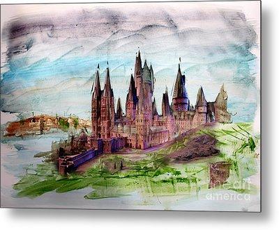 Hogwarts Metal Print by Roger Lighterness