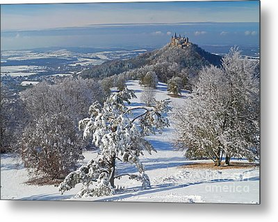 Metal Print featuring the photograph Hohenzollern Castle 2 by Rudi Prott