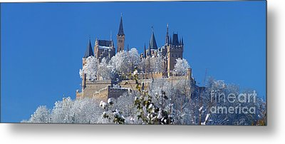 Hohenzollern Castle Germany Metal Print by Rudi Prott