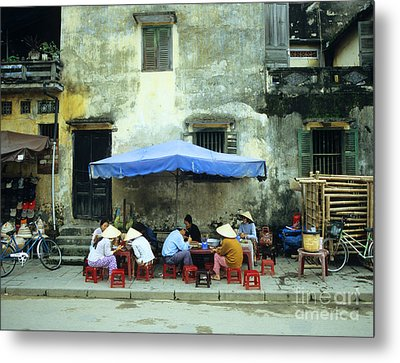 Hoi An Noodle Stall 02 Metal Print