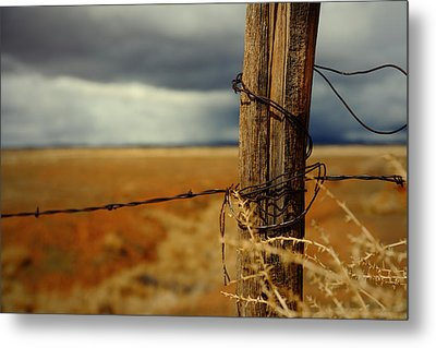 Hold Back The Storm Metal Print by Mark  Ross