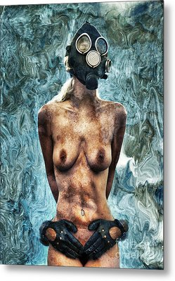 Hold Me If I M Dying 3 Metal Print by Stelios Kleanthous