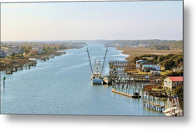 Holden Beach In Nc Metal Print