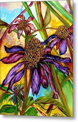 Holding On To Summer Sold Metal Print by Lil Taylor