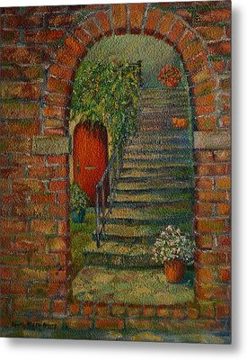 Hole In The Wall Metal Print by Dorothy Allston Rogers