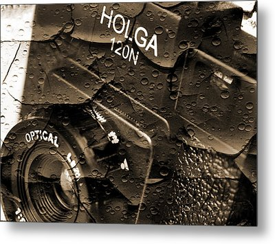 Holga 120n Metal Print by Mike McGlothlen