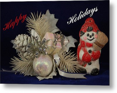 Holiday Greeting Metal Print by Aimee L Maher Photography and Art Visit ALMGallerydotcom