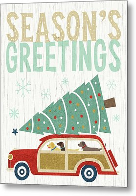 Holiday On Wheels II V2 Metal Print by Michael Mullan