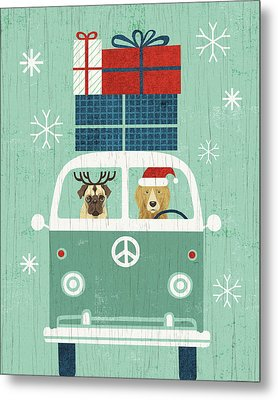 Holiday On Wheels Xii Metal Print by Michael Mullan
