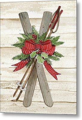 Holiday Sports Iv On Wood Metal Print