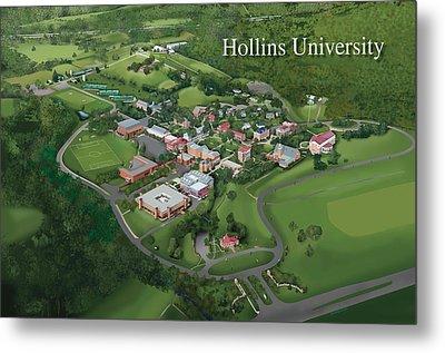 Hollins University Metal Print by Rhett and Sherry  Erb