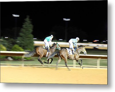 Hollywood Casino At Charles Town Races - 121215 Metal Print by DC Photographer