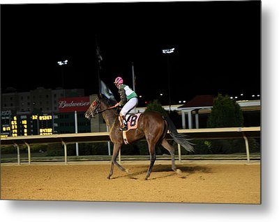 Hollywood Casino At Charles Town Races - 121233 Metal Print by DC Photographer