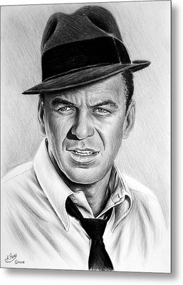 Hollywood Collection Ole Blue Eyes Metal Print by Andrew Read