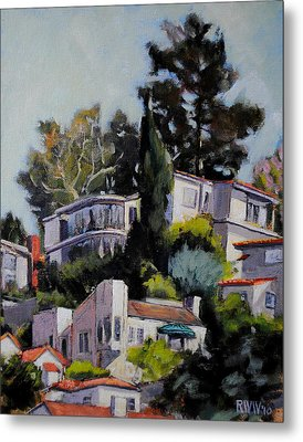 Hollywood Hills Metal Print by Richard  Willson
