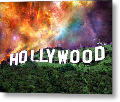 Hollywood - Home Of The Stars By Sharon Cummings Metal Print by Sharon Cummings