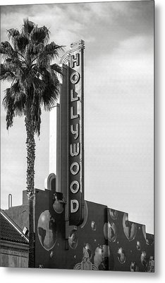 Hollywood Landmarks - Hollywood Theater Metal Print