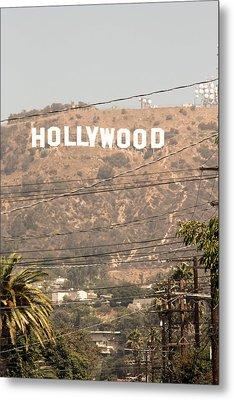 Hollywood Metal Print