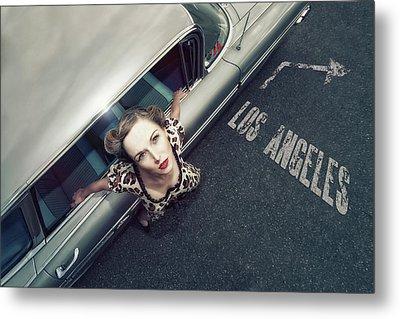 Hollywood Road Metal Print