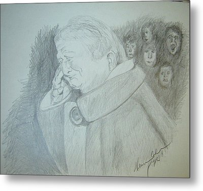 Holocaust Memories Metal Print by Esther Newman-Cohen