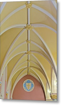 Holy Arches Metal Print by Susan Candelario