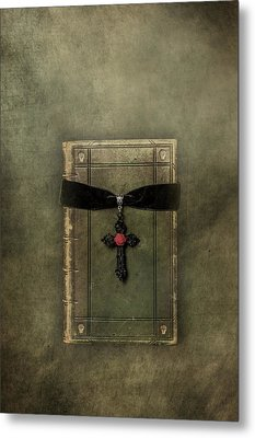 Holy Book Metal Print by Joana Kruse