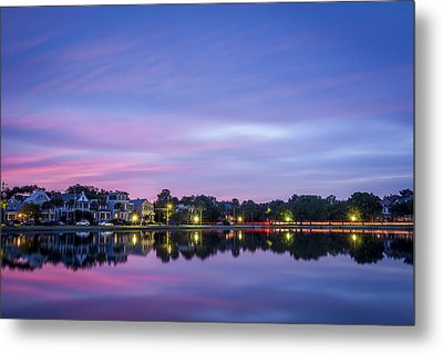 Holy City Reflections Metal Print by Steve DuPree