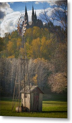Holy Hill  Wisconsin Metal Print by Jack Zulli