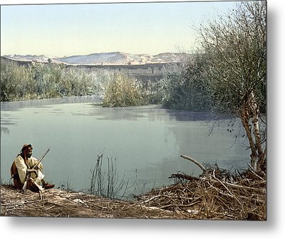 Holy Land River Jordan Metal Print by Granger