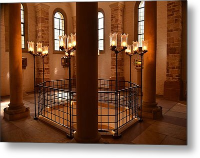 Holy Metal Print by Marty  Cobcroft