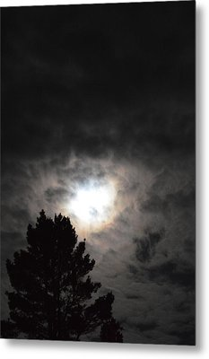 Holy Night Metal Print by Sheldon Blackwell