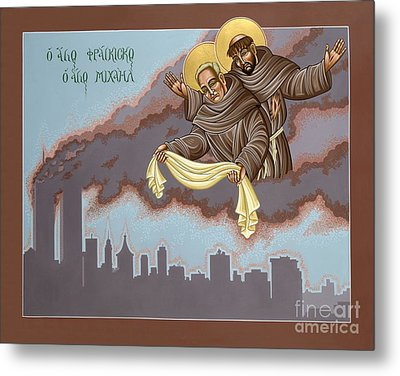 Holy Passion Bearer Mychal Judge 132 Metal Print