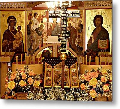 Holy Saturday At St Mary Magdalen Church 2 Metal Print