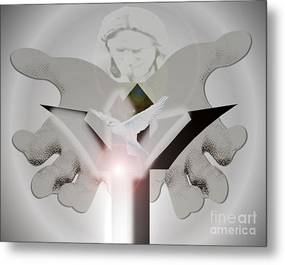 Holy Trinity Metal Print by Belinda Threeths