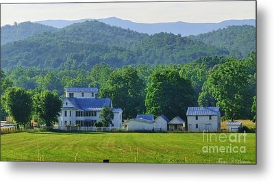 Homan Mill And Homestead Metal Print by Teena Bowers