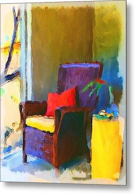 Home Chairs Metal Print by Yury Malkov