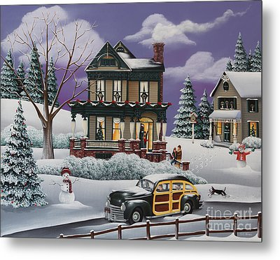 Home For The Holidays 2 Metal Print by Catherine Holman