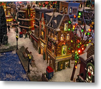 Metal Print featuring the photograph Home For The Holidays by GJ Blackman