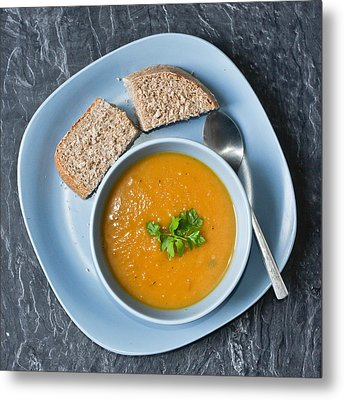 Home Made Soup Metal Print by Tom Gowanlock