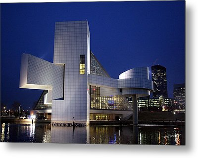 Home Of Rock 'n Roll Metal Print