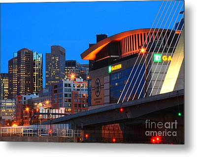 Home Of The Celtics And Bruins Metal Print