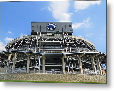 Home Of The Lions Metal Print