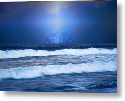 Home On The Horizon Metal Print by Kellice Swaggerty