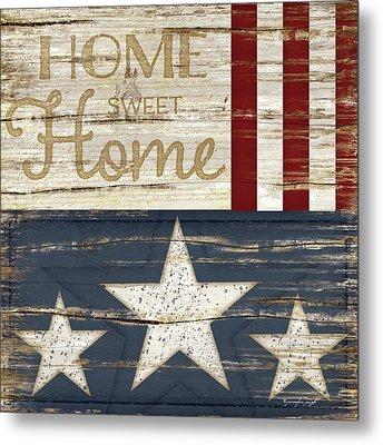 Home Sweet Home Metal Print by Jennifer Pugh