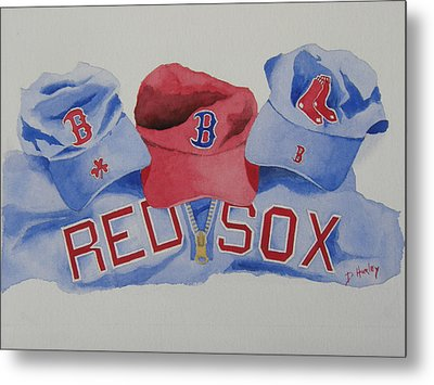 Home Team Metal Print by Don Hurley