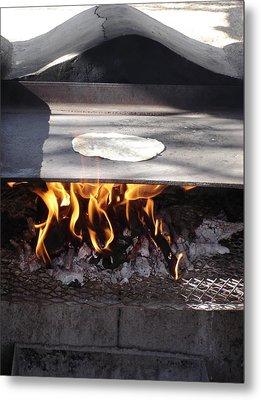 Metal Print featuring the photograph Homemade Tortillas by Kerri Mortenson