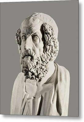 Homer 9th Century  Bc. Roman Copy Metal Print