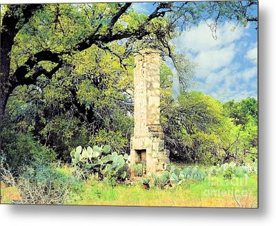 Forgotten Homestead  Metal Print